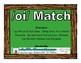 /oi/ Match Literacy Center/Workstation Phonics Game