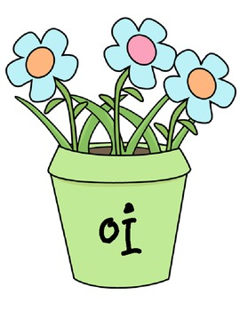 -oi and -oy: Digging Up Some Dirt Word Sort