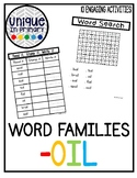 -oil Word Family Pack NO PREP