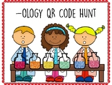 -ology (study of) QR Code Hunt (Content Review or Notebook Quiz)