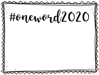 One Word 2018 FREE Template!