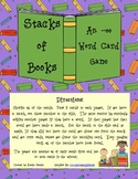 -oo (as in book) Word Card Game Set: Stacks of Books