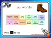 The 'oo' (long u) Phonics PowerPoint