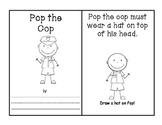 -op Word Family Book - Pop the Cop AND Activities