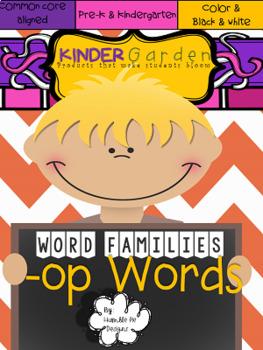 -op word family flip
