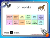 The 'or' Phonics PowerPoint