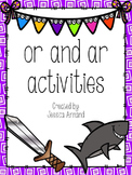 """or"" and ""ar"" R Controlled activity pack"
