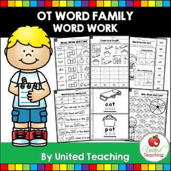 -ot CVC Word Family Word Work