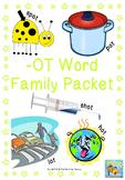 -ot Word Family Packet