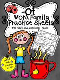 -ot Word Family Practice Pages