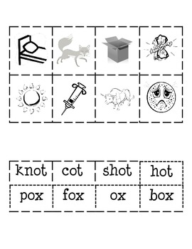 -ot and -ox Word Families