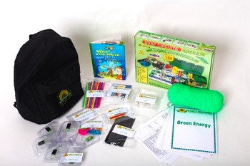 Green Energy:  S.T.E.A.M LEARNING KITS (2)  K-4TH GRADE