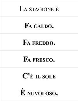 (ott') Oggi Calendar Time in Italian!