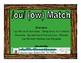/ou/ (ow) Match Literacy Center/Workstation Phonics Game