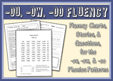 Ou, Ow, & Oo Word Family Fluency Bundle: Charts, Stories,
