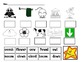 ow and ou  vowel combination pocket chart puzzle  for kindergarten and 1st