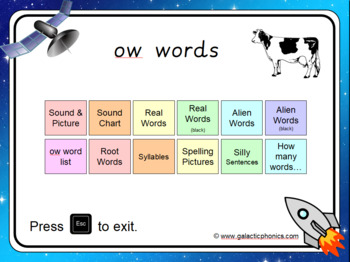 The 'ow' (cow) PowerPoint