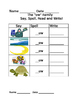 -ow word  family worksheets