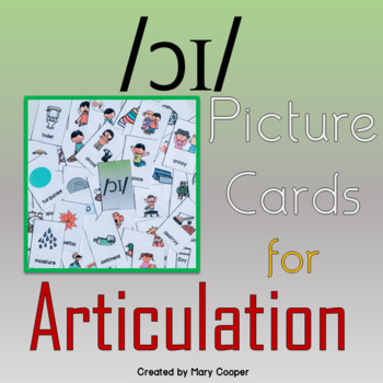 """oy/oi"" Picture Articulation Cards"