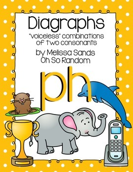 -ph Digraph Anchor Chart & Practice {Click File, Print}