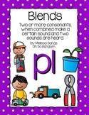 -pl Blend Anchor Chart & Practice {Click File, Print}