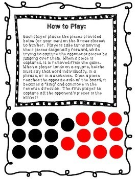 /r/ Checkers: Initial, Vocalic, and Blends