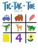 /r/ Sound Tic-Tac-Toe