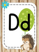 #roomdecor Classroom Decor Alphabet Posters - Woodland Forest Animals