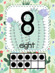 #roomdecor Classroom Decor Watercolor Cactus Classroom Number Posters 1-20