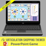 /s/ Articulation Shopping Themed PowerPoint Game - No Print & No Prep