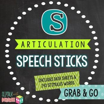 /s/ Articulation Speech Sticks