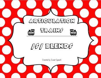 /s/ Blends Articulation Train