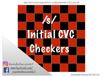 /s/ Initlal CVC Checkers for Articulation