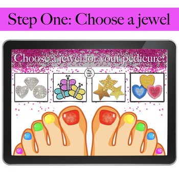 /s/ Pretty Pedicure - Speech Therapy - Articulation - Boom Cards