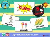 /s/ blends- Kablam! Speech Sound Series