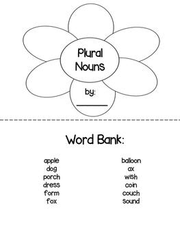 -s -es Plural Noun Booklet