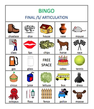 5 letter words ending in ze s r amp r blends articulation bingo bundle by speech 16340
