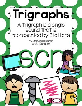 -scr Trigraph Anchor Chart & Practice {Click File, Print}