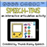 BOOM Cards: Speech-tris (Interactive Articulation Activity)