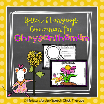 Speech and Language Companion for Chrysanthemum