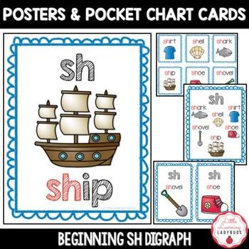 Beginning /sh/ Digraph Pack