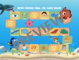 /sh/ Phoneme Game Board- Nemo themed