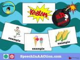 /sh/ all positions- Kablam! Speech Sound Series