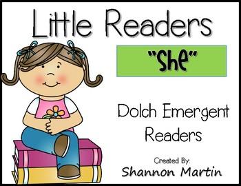 """""""she"""" Little Reader"""