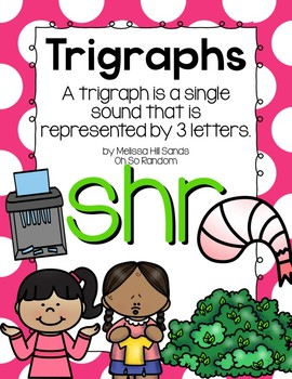 -shr Trigraph Anchor Chart & Practice {Click File, Print}
