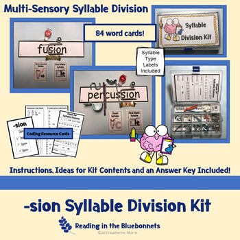 -sion Syllable Division Kit
