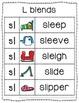 -sl Blend Anchor Chart & Practice {Click File, Print}