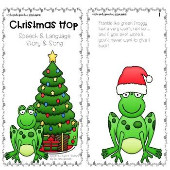 #slpchristmashop | Christmas Speech Therapy Activities