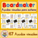 67 Ayudas visuales para paquete de autismo Spanish Español