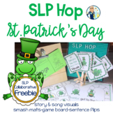 #slpstpatrickhop St. Patrick's Day SLP Collaborative Freebie